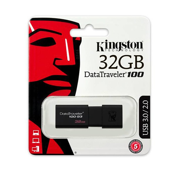 DT100G3/32GB KINGSTON PENDRIVE USB 3.0 32GB
